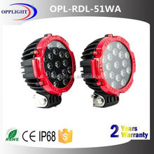 51w led truck light led car front driving light led daylight widely used in project vechicle ytw10k