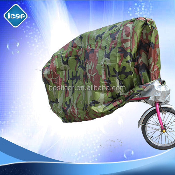 Cheap Wholesale taffeta material 190t bike cover
