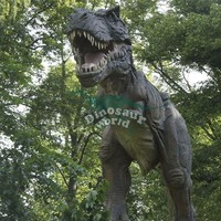 Small Amusement Parks Playground Dinosaur Garden Sculpture