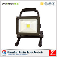Rechargeable Epistar battery powered 5w 10w/20w/30w portable LED flood light