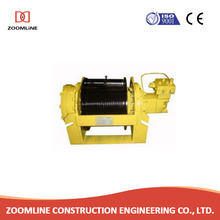 high speed portable capstan rope electric winch DC 12V,24V
