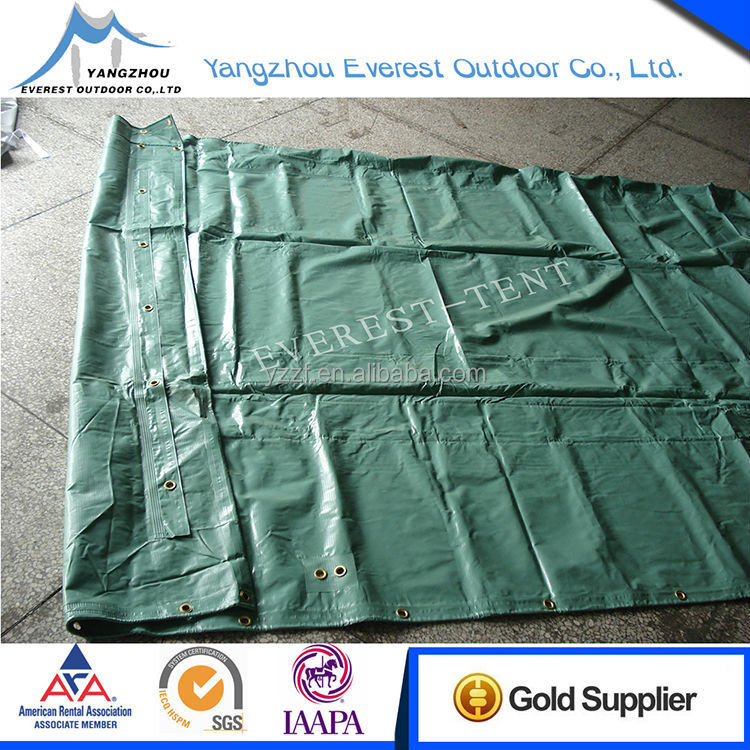 factory supply transparent pvc coated tarpaulin fabric