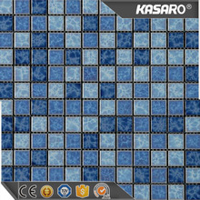 16035 blue swimming pool mosaic ceramic tiles