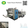 Automatic drawing type facial tissue folding machine