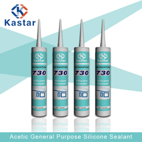 Factory manufacture 220ml silicone sealant msds with weatherproof