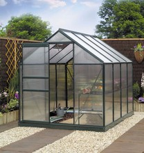 anti rot polycarbonate sail aluminum profile garden used greenhouse kits for sale