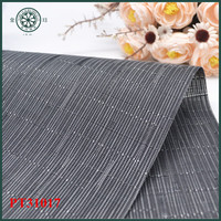 jacquard bamboo blind mesh fabric pvc textile office floor mat table place mat
