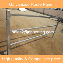 Heavy duty horse/cattle fence panel galvanized square pipe corral panel