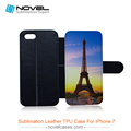 High quality tpu pu leather case for iPhone7,wallet case