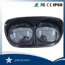 6000K 40W 30W High Low Beam IP67 4.7 Inch Double LED Headlight For Harley