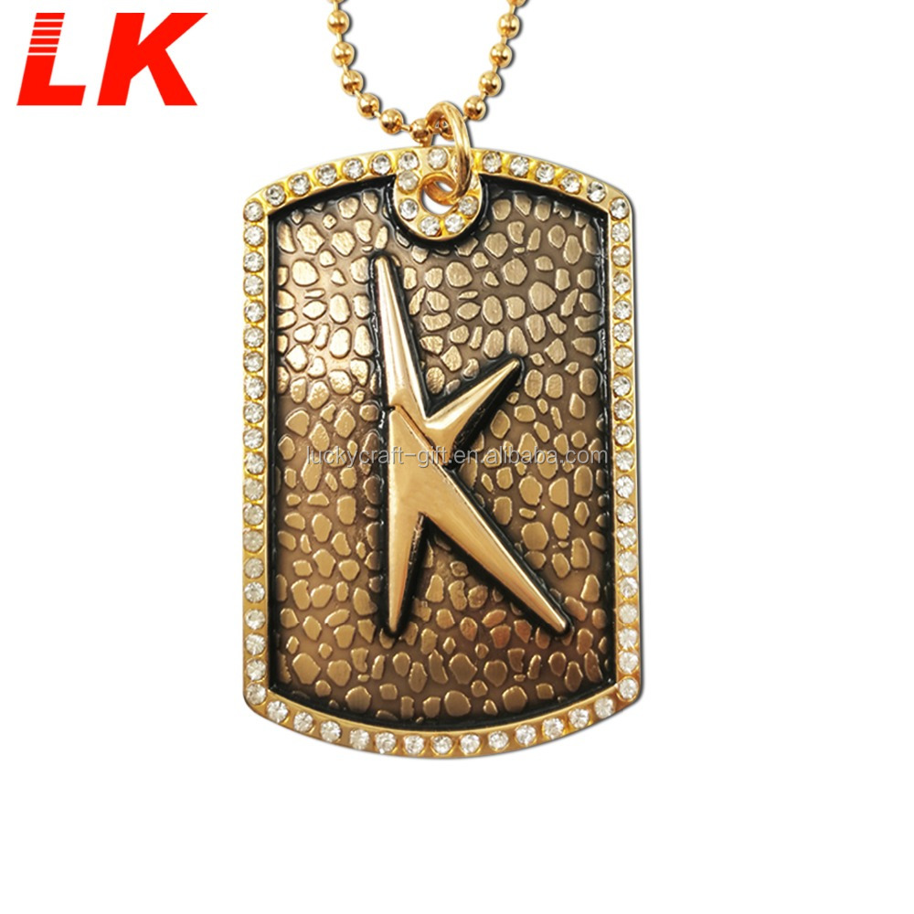 Wholesale custom cheap couple dog tag with cheap price