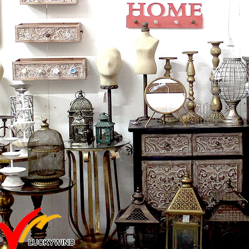 China luckywind handmade wholesale rustic antique vintage for Vintage home interior products