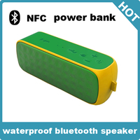Active Type and Portable Audio Player bluetooth speaker with strong power bank