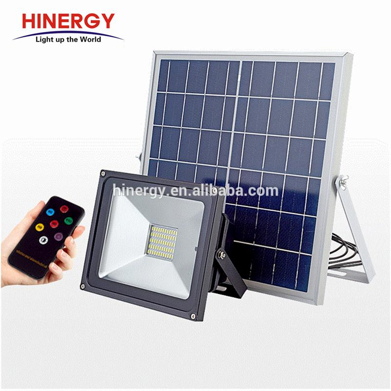 Led Flood Power System Home Solar Motion Sensor Light 10w 20wp 30watt 50w