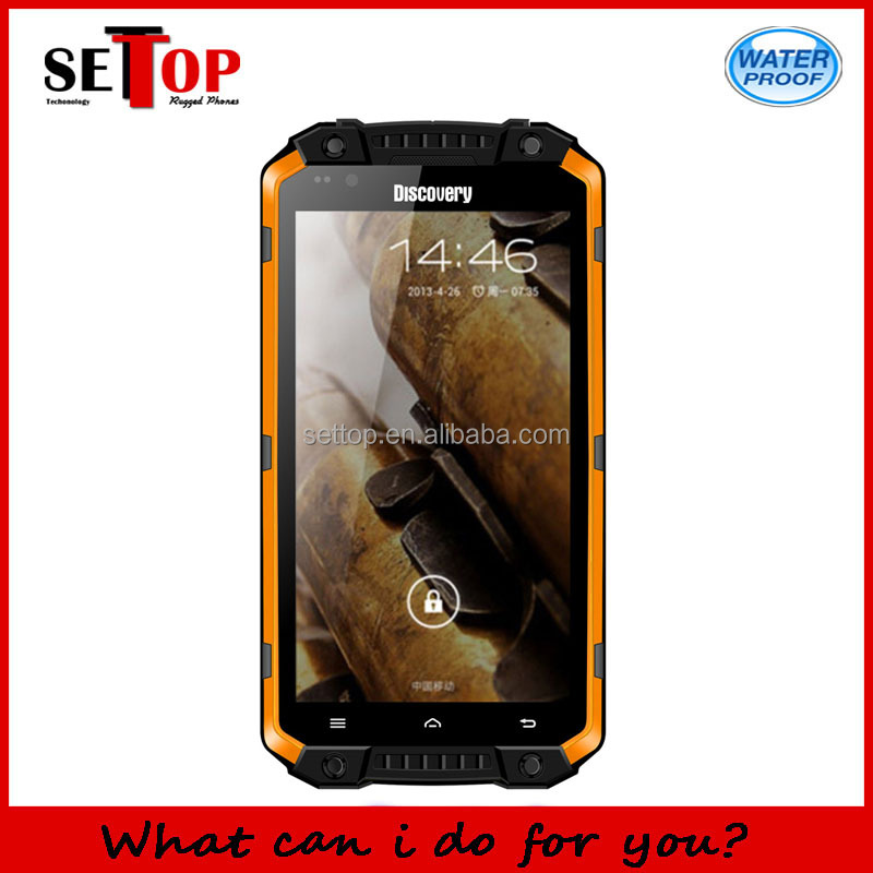 Mobile Phones New Unlocked Discovery V9 IP68 Waterproof 3G Rugged Smartphone Quad Core 5.5 Inch WIFI GPS