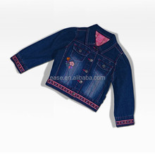 2015 Hot ! latest design fasionable ladies jeans coat