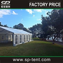 Newest Big wedding party Tent with linings and curtains