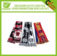 New Style Hot-selling Logo Embroidered Fan Scarf