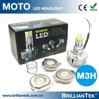 High Power Hot Sale M3h 2500lm Motorcycle Double Headlight 30w