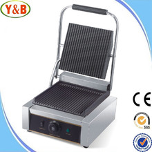Automatic electric portable panini contact grill for hot selling