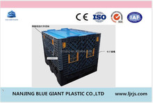 Plastic Virgin HDPE Fruit Stackable Plastic Pallet Containers