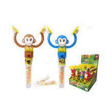 Monkeys Playing Gongs Candy Toys