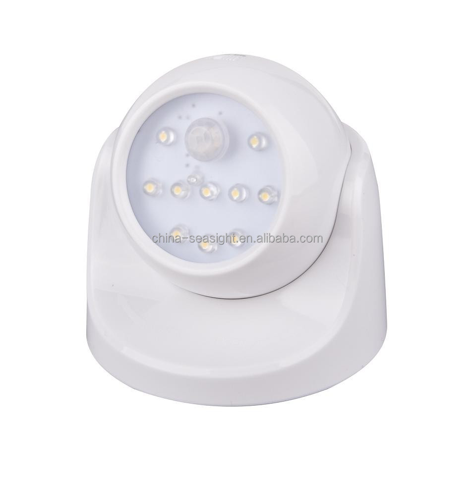 High Quality LED Lamp Auto Body Wireless PIR Motion Sensor LED Light Detectors
