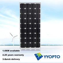china panles solar mono 100w with good quality