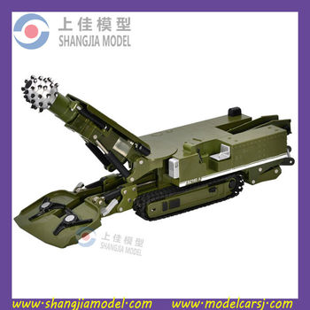 1:26 diecast Mining machinery model, diecast mould manufacturer,mining model toy