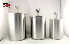 Stainless steel sealed milk cans candy jar sealed cans coffee bottle canisters Tea caddy