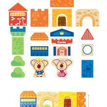 Special Wooden Happy Kingdom Blocks, Deffer From Plastic Block Toys