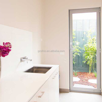 Cheap Price Residential Aluminium French Single door