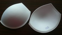 3/5 no push up molded bra cups pads 1148#