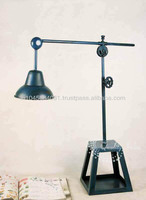 Table Lamp with Metallic Big Stand