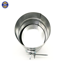 Galvanized Round Duct Volume Control Damper with Quadrant Handle