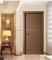 Modern Design Walnut Engineered Veneer Flush Wooden Doors