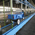 Motor tricycle assembly conveyor line