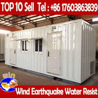 Steel Prefab Tent House Modified Shipping Container Homes