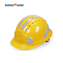 Safetymaster abs mining construction reflective hard hats <strong>safety</strong> helmet