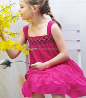 2016 beautiful embroidered girl's dress