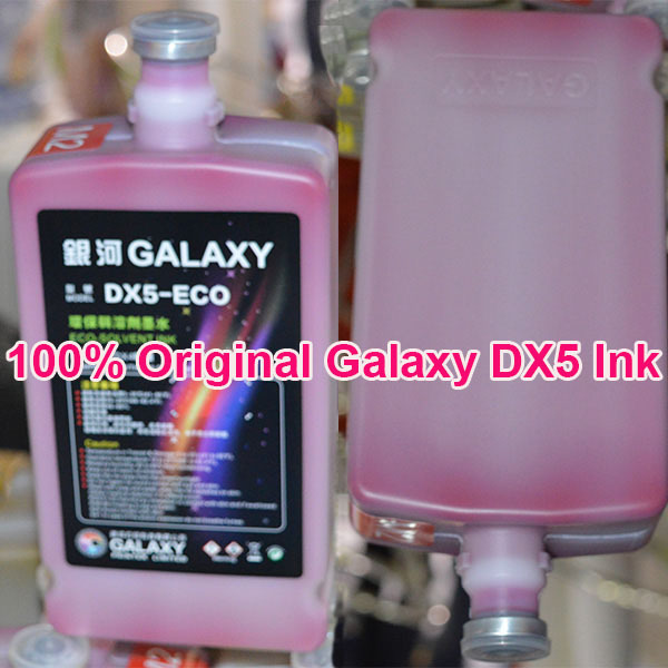 Universal Original Galaxy DX5 ink, Eco Solvent Ink