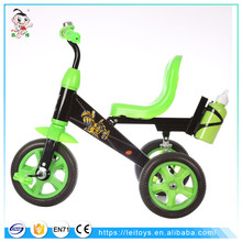 Metal pedal cars for kids wholesale green baby tricycle bike for kids