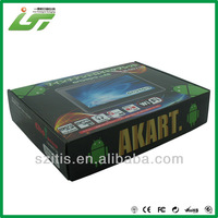 hight end standard corrugated box size printed logo