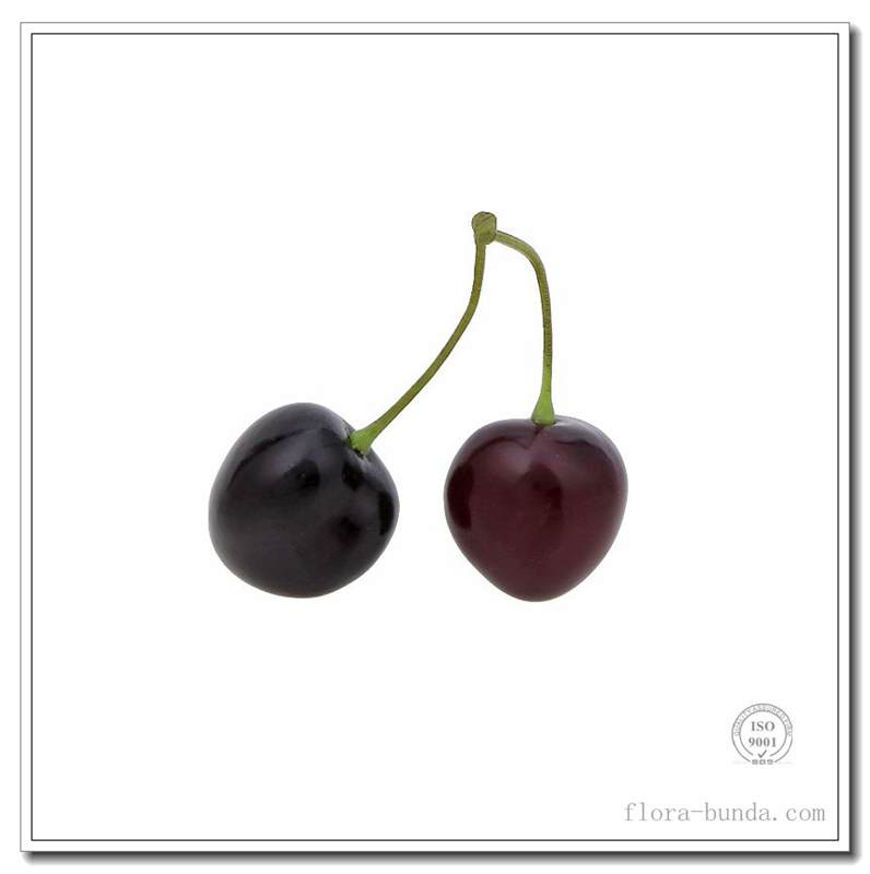 flora bunda decoration RED/BURGUNDY CHERRY artificial fruits