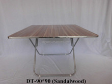Wood Folding Table/Folding Table Used in Dining Room/Chippendale Dining Room Table