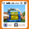 Outdoor Giant Inflatable Jaws Water Slide