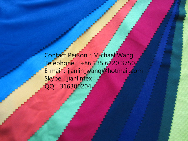 100% polyester interlock double side knit jersey t-shirts fabric