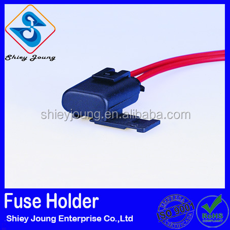 auto mini fuse holder 12 14 16GA customized Taiwan wiring harness
