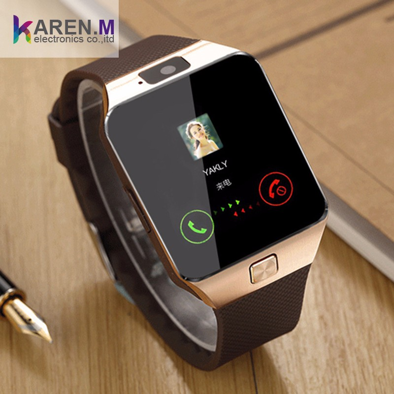 Free Watch Band Bluetooth Smart Wrist Watch Phone Mate Android SIM Card Camera GT08 vs DZ09