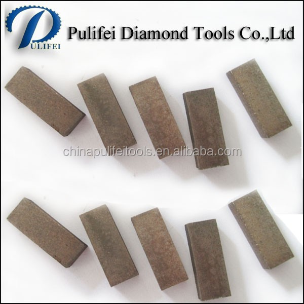 Granite Diamond Segment For Cutting Blade And Stone Gang Saw